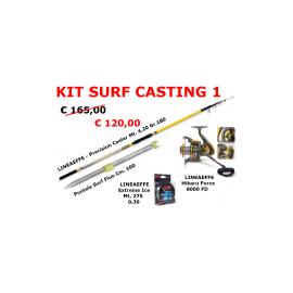 Lineaeffe - Kit Surf Casting 1